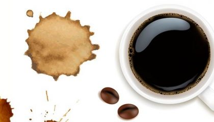 чем можно убрать пятно от кофе