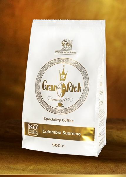 фото упаковки кофе Гран Рич