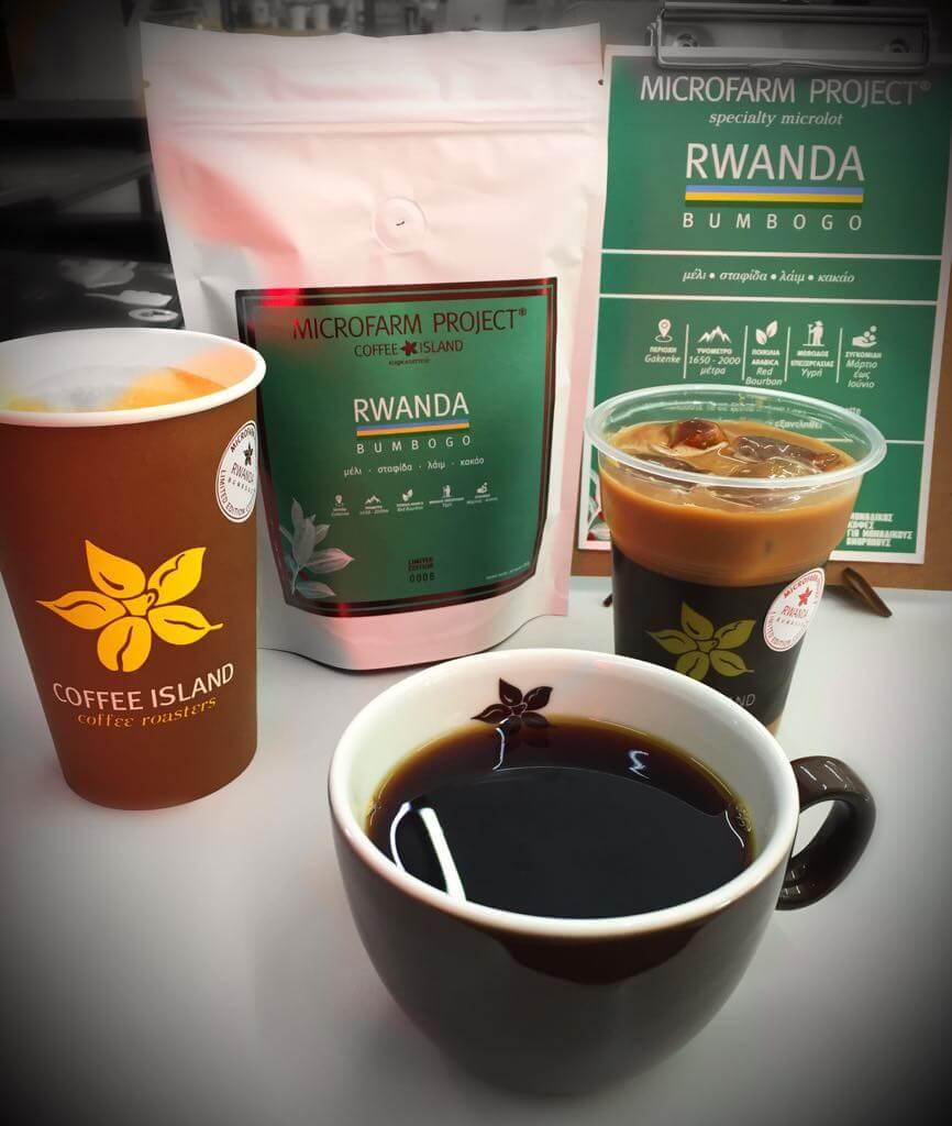 фото руандского кофе в чашке