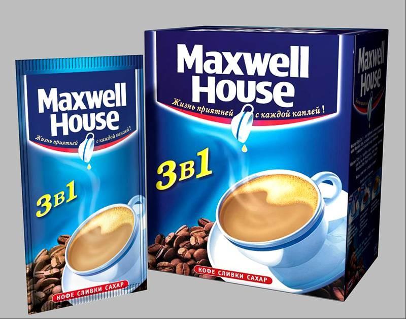 фото кофе Максвелл Хаус 3 в 1