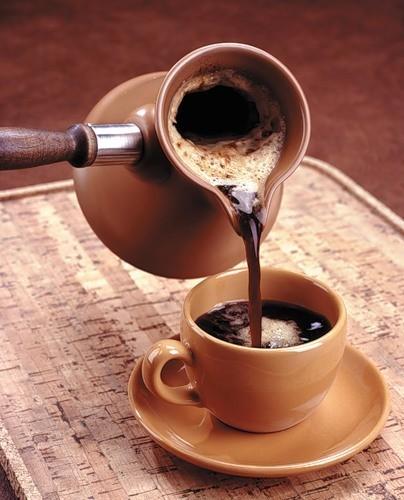 фото как правильно варить кофе в керамической турке