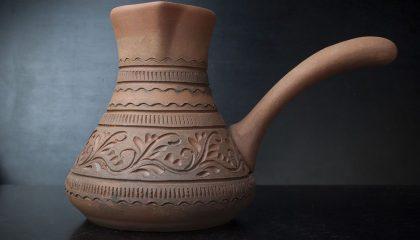 фото керамической турки для кофе