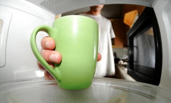 фото как приготовить кофе без турки в микроволновке