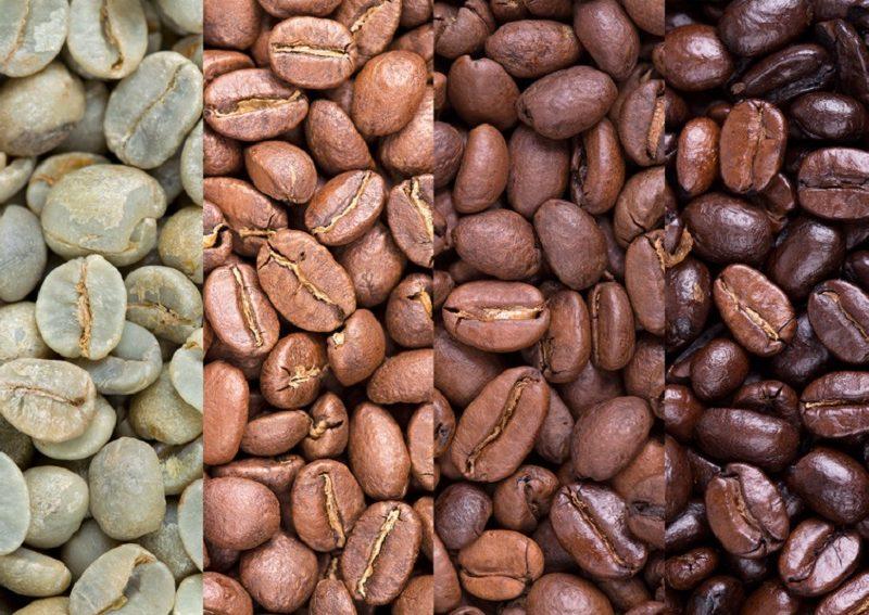 фото зерен кофе Тимор