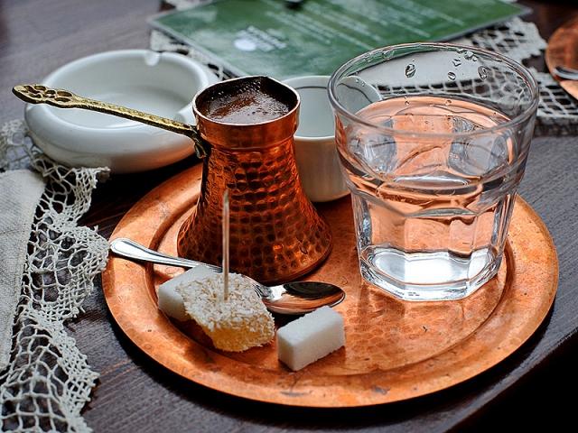 как правильно пить турецкий кофе