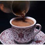 фото турецкого кофе в чашке