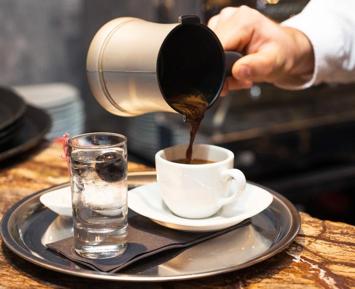 фото кофе по-гречески