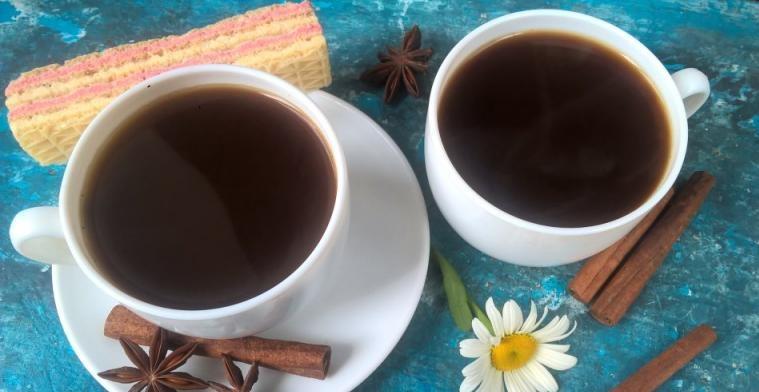 фото с какао и корицей без молока