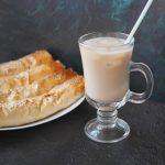 домашний кофе с кокосовым молоком