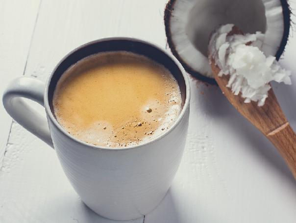фото классического кофе с кокосовым молоком