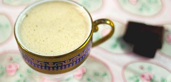 фото классического кофе с сыром