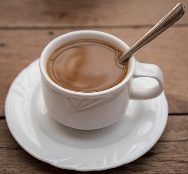 фото кофе с шоколадом и кокосовым молоком