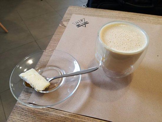 фото кофейного напитка сырный раф