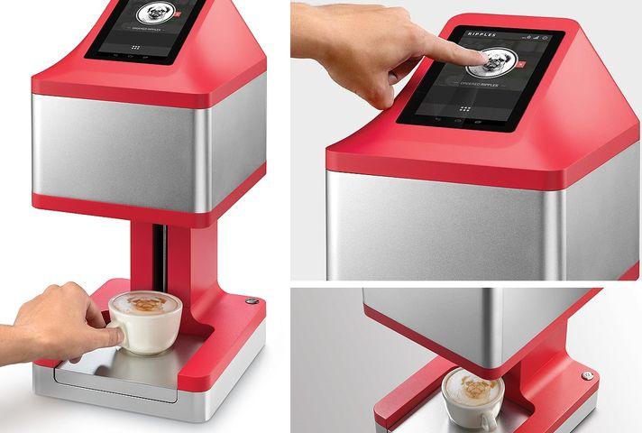фото кофейного принтера Ripple Maker
