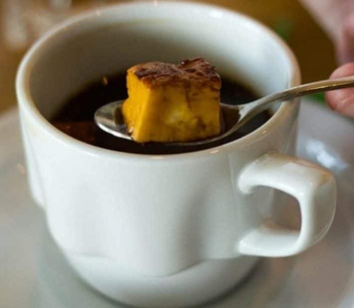 фото ленивого кофе с сыром
