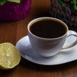 как пить кофе с лимоном