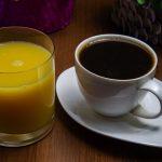 фото кофе с апельсиновым соком