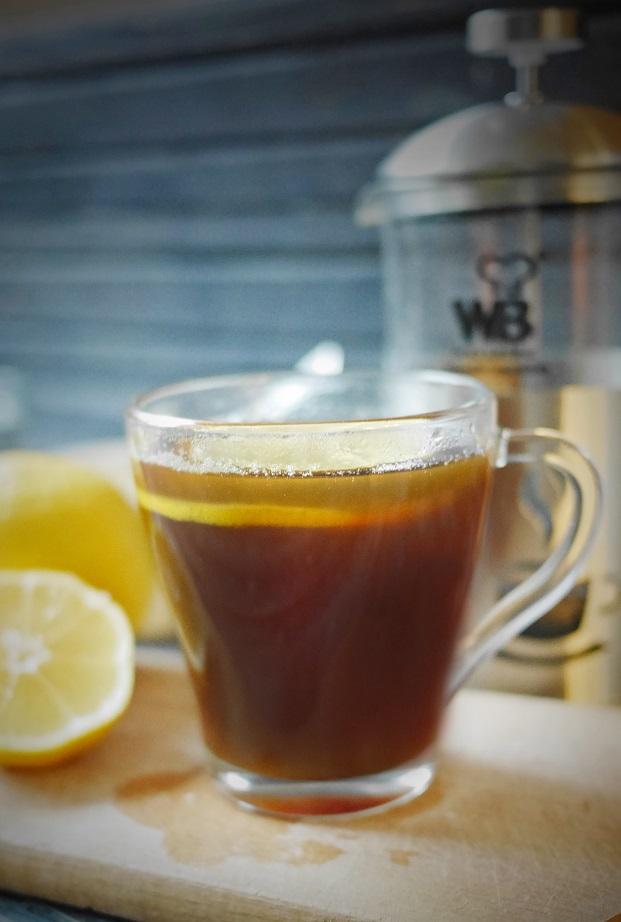 фото кофе с лимоном в турке