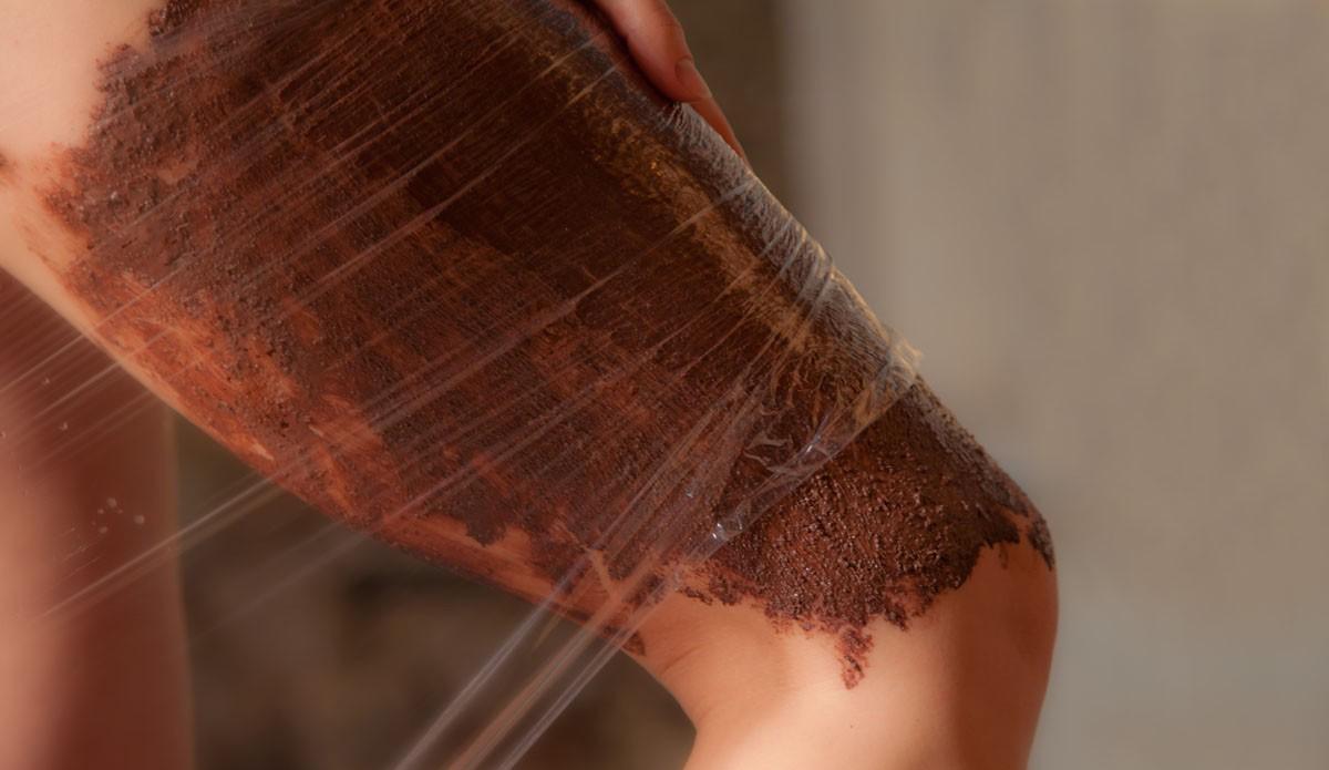фото кофейного обертывания от целлюлита