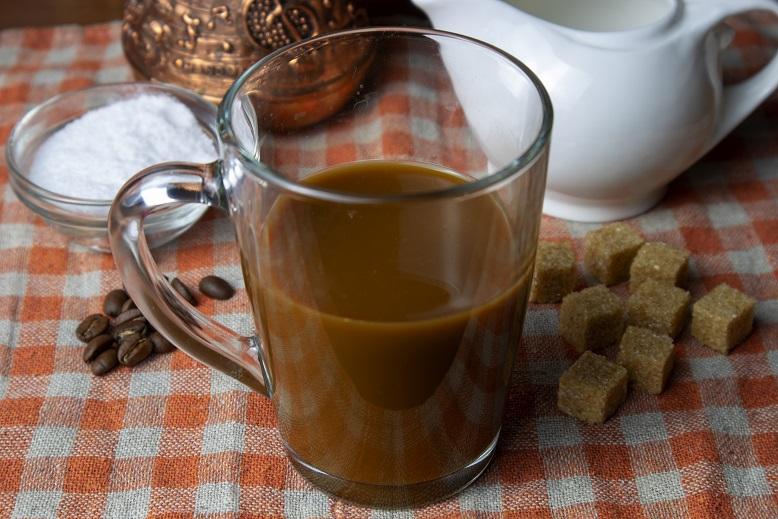 Сливочный кофе с солью фото