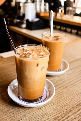 фото кофе с амаретто и льдом