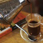 кофе с шафраном фото