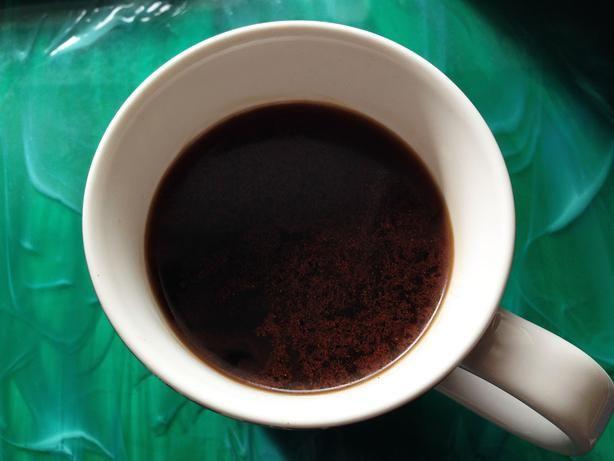 фото кофе с шафраном и кардамоном