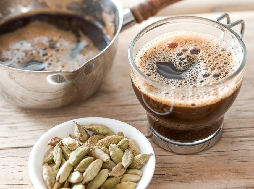 кофе с кардамоном по-арабски