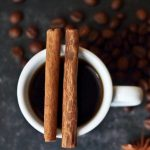 кофе с корицей фото