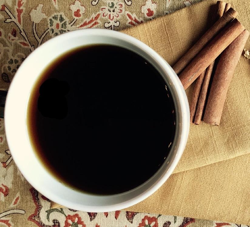 кофе с корицей и имбирем