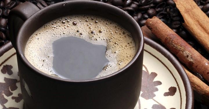 растворимый кофе с корицей фото